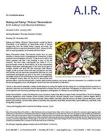 AIR Gallery Brooklyn NY 11th Biennial with Rebecca Shavulsky